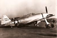 The P-47 was the first American escort fighter to go to the 8th Air Force in Britain