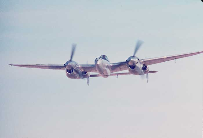 P-38 was a unique twin-engine design